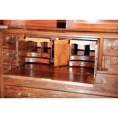 19th c. Mahogany Secretary *Sold
