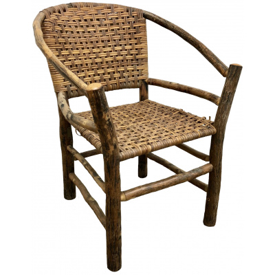 Old Hickory Two Hoop Lounge Chair *Hold