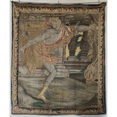17th c. French Tapestry of Hippomenes