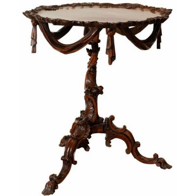 18th c. George II Tripod Table