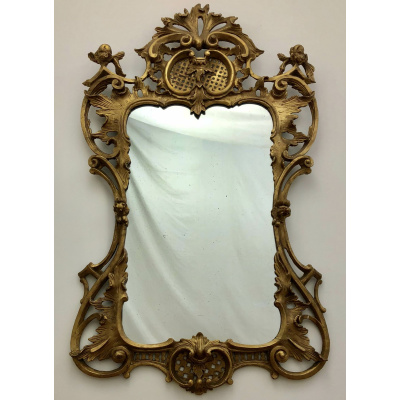 Antique c.18th French Rococo Mirror