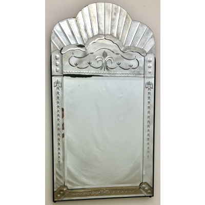 Venetian Arched Top Mirror