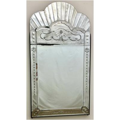 Venetian Arched Top Mirror