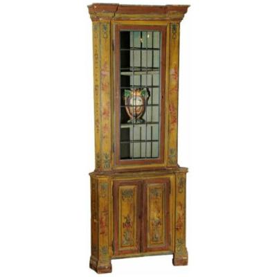 Antique Venetian Corner Cupboard