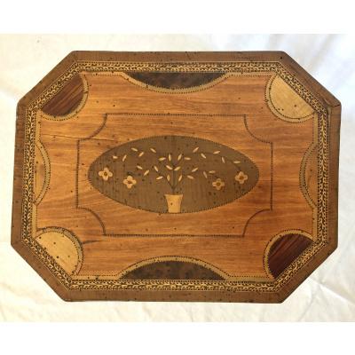 Satinwood Basket Top Work Table