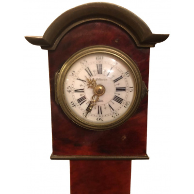 Antique 18th c Style Minature Case Clock