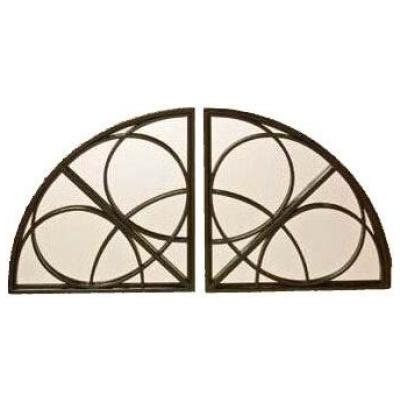 Zenda Quarter Round Mirror