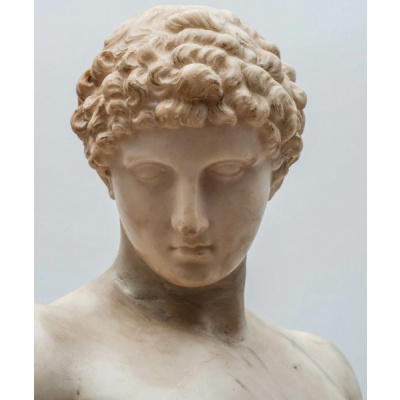 Antique Bust of Roman Male Youth*Hold