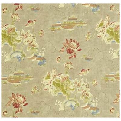 Waterlily Linen Curtain Panels