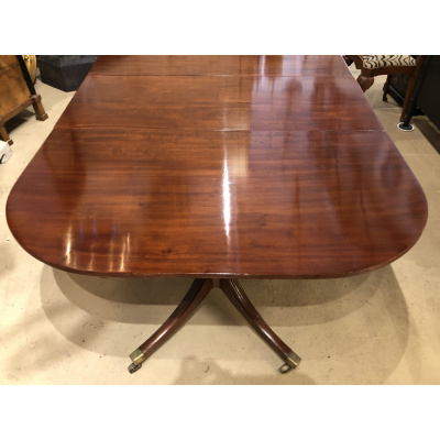 19th c. Georgian Mahogany Dining Table