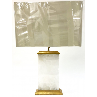 Iceland White Quartz Table Lamp*Hold