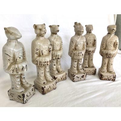 Ming Dynasty Style Zodiac Figures