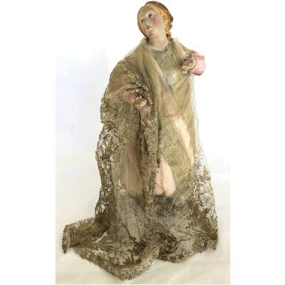 18th c. Neapolitan Presepio Angel