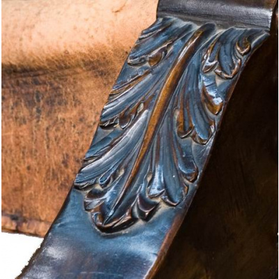19th c. Dante Folding Chair