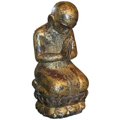 18th c. Gilt Burmese Buddha