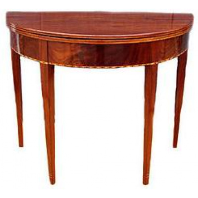18th c. American Federal Card Table