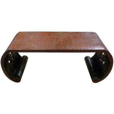 Antique Chinese Lacquered Ironwood Table