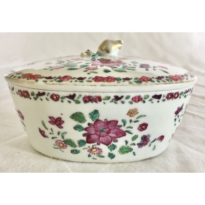18th c. Chinese Export Covered Dish