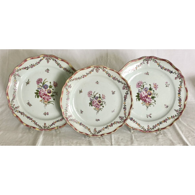 18th c. Chinese Export Chargers Set/3